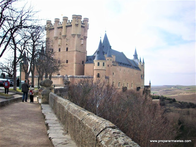 el alcázar de Segovia, imprescindible