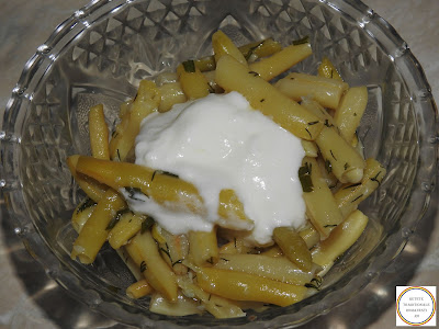 Salata de fasole pastai cu iaurt reteta,