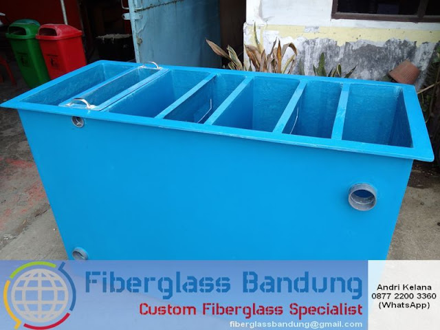 Bak Fiber Untuk Filter Air