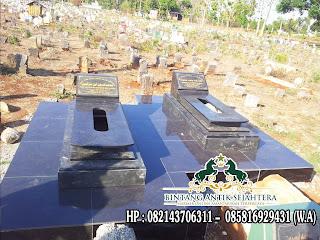 Makam Islam Granit, Model Makam Islam Kembar, Jual Makam Granit