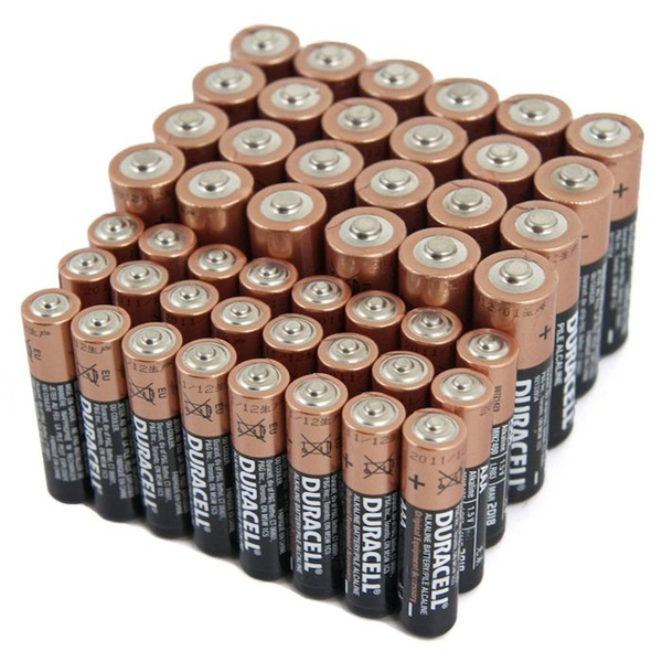 Duracell Batteries 24 AA & 24 AAA(48 Pack)