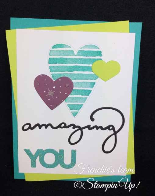 Heart Happiness, Celebrate You Thinlies, Sale a Bration and Occasion Stampin'Up! 2018, Frenchie stamps in the Spotlight,