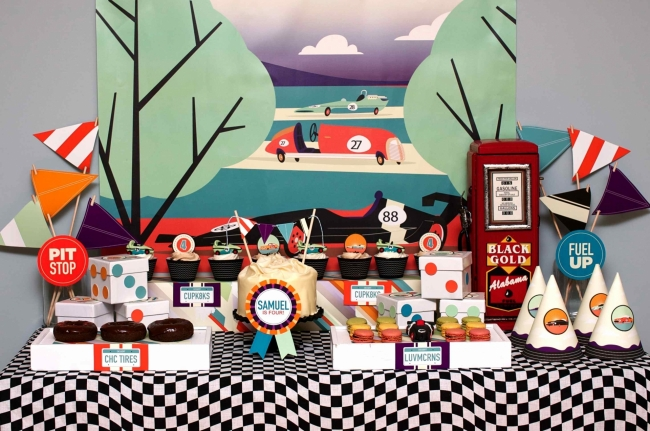 Race Car Birthday Party: Cupcake Wishes & Birthday Dreams: {Weekly Blog Round-Up ...