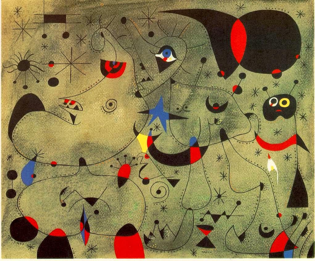 Noturno - Miró, Joan e suas principais pinturas