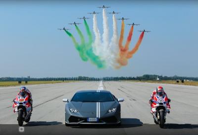 Ducati MotoGP Latihan Bareng Angkatan Udara Italia