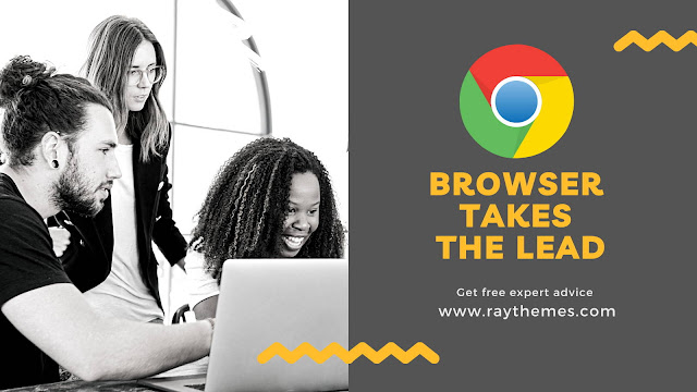 Google Chrome browser takes the lead - Raythemes