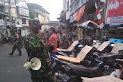 Himbauan 3M, Kodim 1309/Manado Bersama Polresta Manado Laksanakan Patroli Gabungan