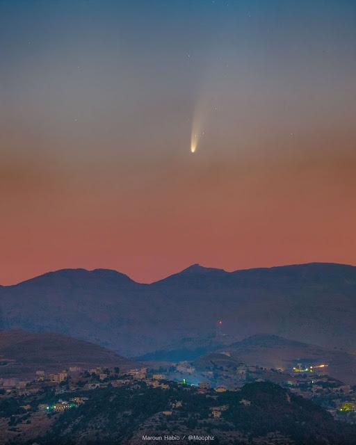 Cometa NeoWise - Maroun Habib - Libano