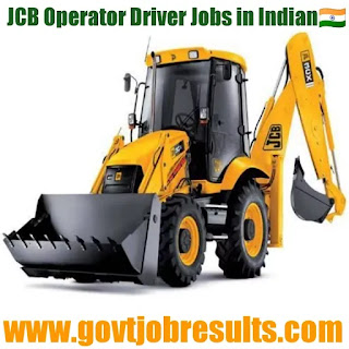 JCB Operator Driver Jobs in India
