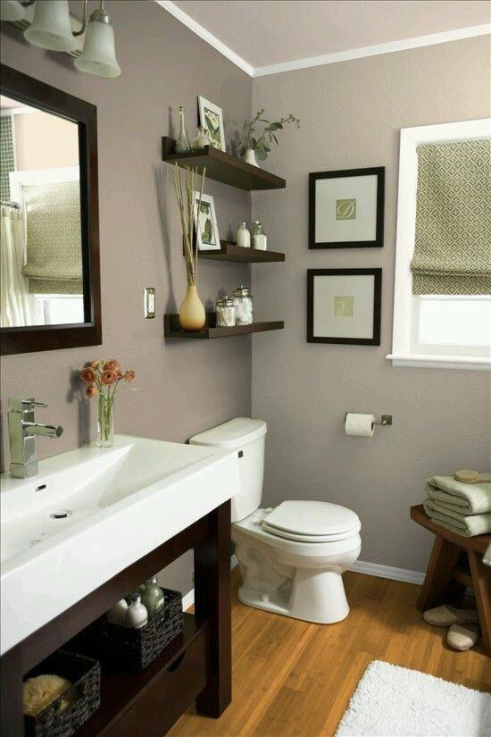 100 ideas de diseño moderno de repisas de baño