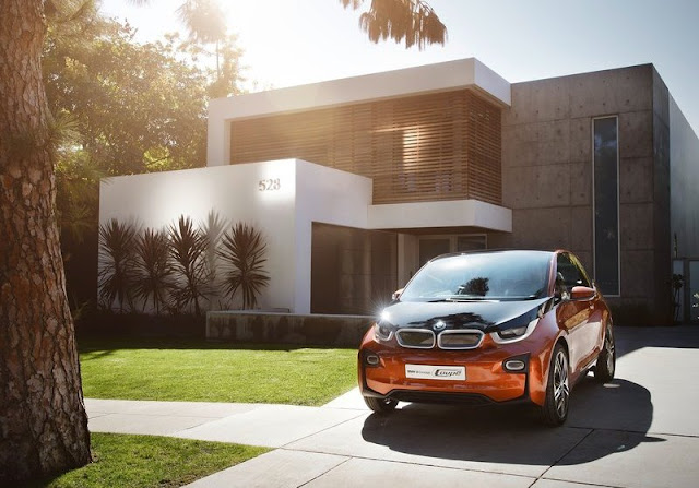 2013 BMW I3 Concept Coupe Front Angel