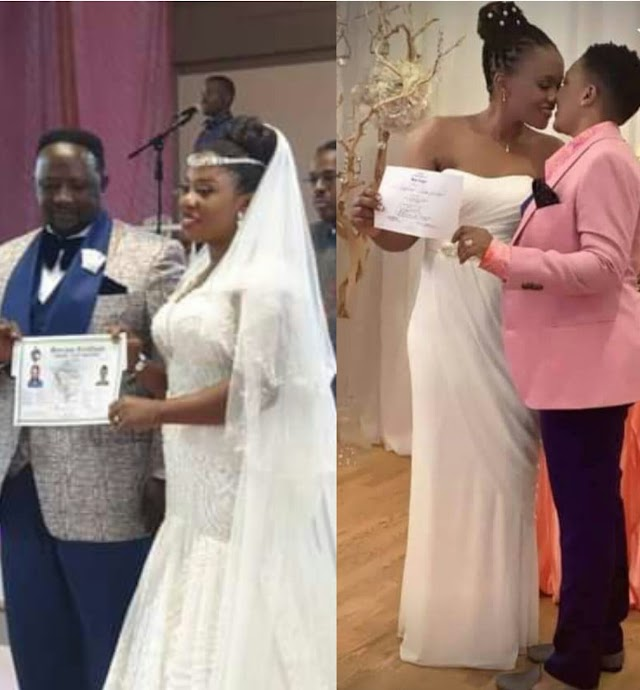 Ugandan gospel singer turns lesbian, marries fellow woman after her ex-husband remarried
