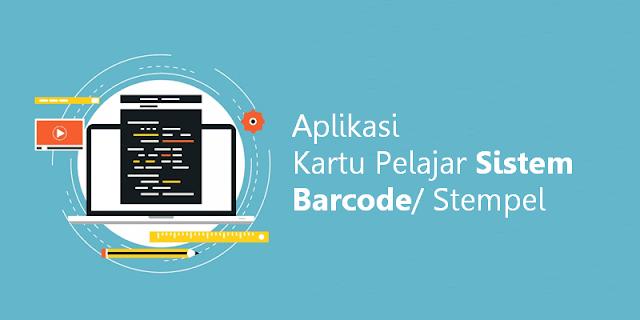 Aplikasi Kartu Pelajar Sistem Barcode/ Stempel Microsoft Excel
