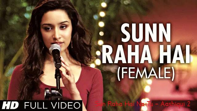 Sun Raha Hai Na Tu Lyrics - Aashiqui 2