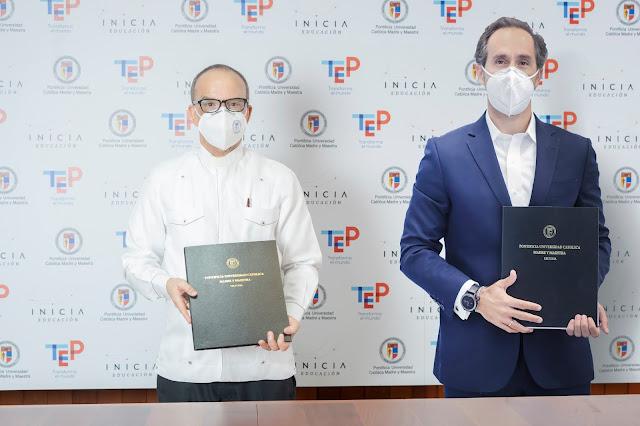 PUCMM e INICIA Educación forman alianza que ofrece carreras técnicas superiores a través del TEP