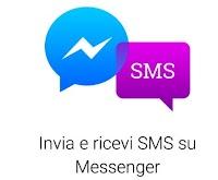 Inviare e leggere SMS con Facebook Messenger