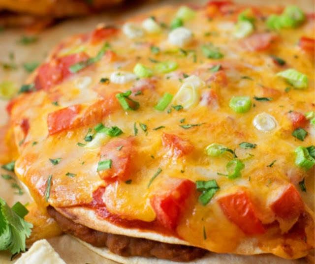 Quick & Easy Mexican Pizzas