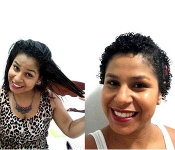 transição capilar cabelos cacheados antes e depois