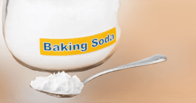 Baking soda is also an effective remedy for getting rid of blackheads and acne because it helps cleanse the skin of impurities.  ♦ Mix 2 teaspoons of baking soda with mineral water until a firm mixture is obtained.  Apply a mixture on the area with blackheads and massage gently.  ♦ Let the mixture dry for several minutes before rinsing it off with lukewarm water.  ♦ Repeat these steps once or twice a week.