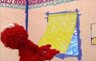 Elmo struggles a bit with Shade. Sesame Street Elmo's World Teeth