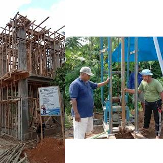 Cukupi Ketersediaan Air Bersih, Desa Raman Endra Terima Program PAMSIMAS