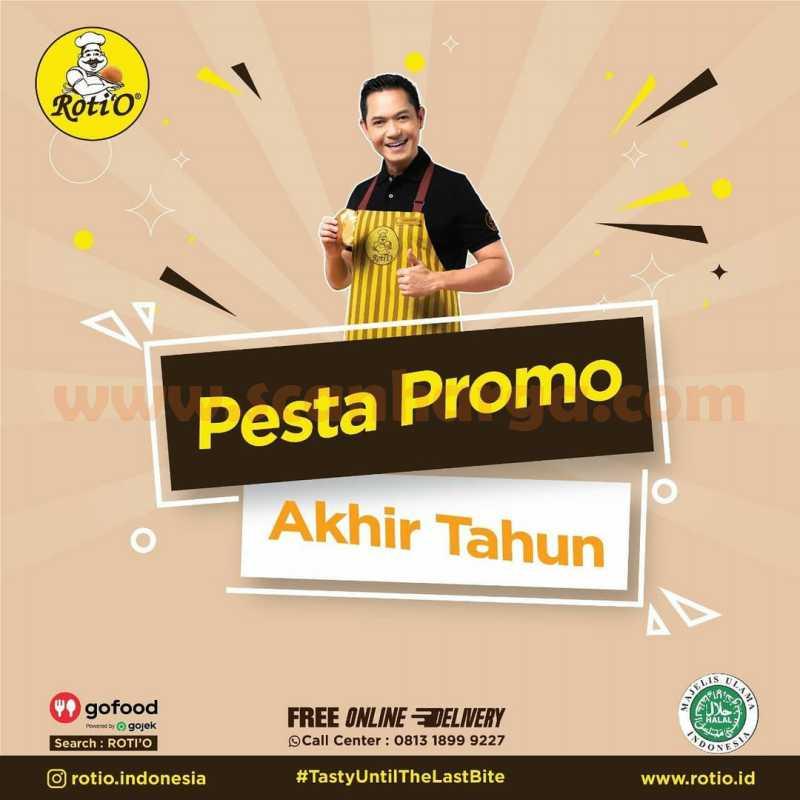 Roti'O Pesta Promo Akhir Tahun Periode 1 - 31 Desember 2020