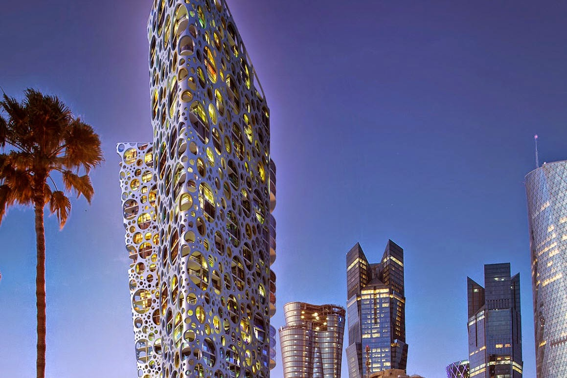 Creating Tower Facade with VRayPattern for 3ds Max | CG ...