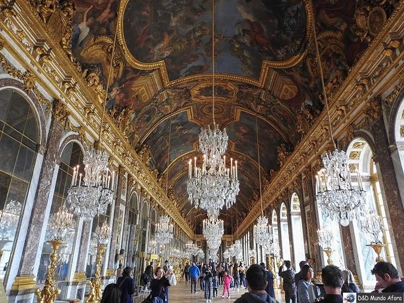 Roteiro - 3 dias em Paris - Château de Versailles