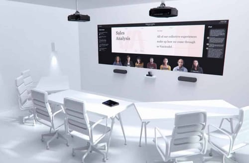 Microsoft offers a vision for the future of conference