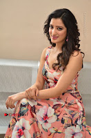 Actress Richa Panai Pos in Sleeveless Floral Long Dress at Rakshaka Batudu Movie Pre Release Function  0155.JPG