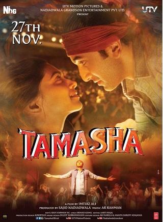 Tamasha 2015 Hindi 400MB BluRay 480p