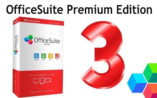 OfficeSuite Premium 3.20.24018.0 [+Patch] - Phần mềm văn phòng 2019