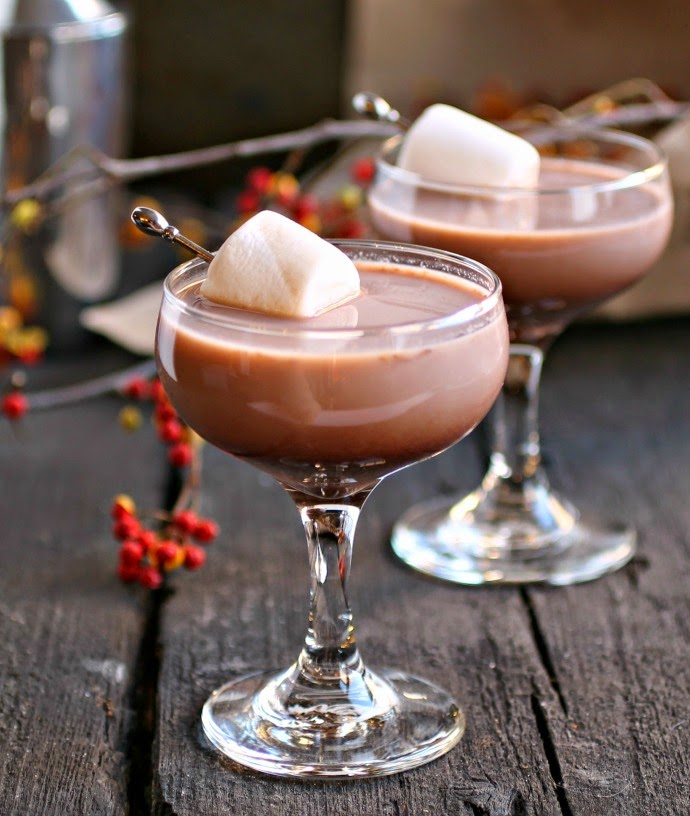 Hot Cocoa Martini
