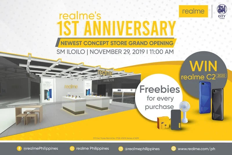 Realme Marks First Anniversary in PH, Opens Flagship Store in Iloilo