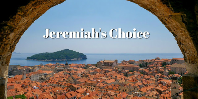 In Jeremiah 40, the prophet Jeremiah makes a difficult choice that illustrates words of Jesus. Let Jeremiah's choice impact your choices.
