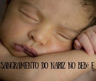 Primeiros socorros para parar um sangramento nasal... Sangramento do nariz no bebé e criança - dicas para os pais
