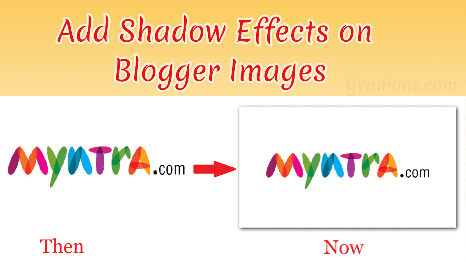 How to Add Shadow Effect in Blogger Images | Step to Step