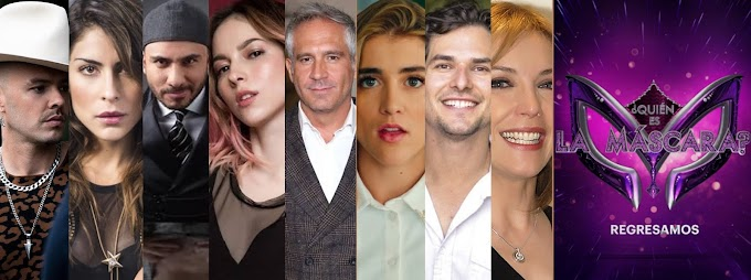 Los famosos en ¿Quién es la Máscara? 2020