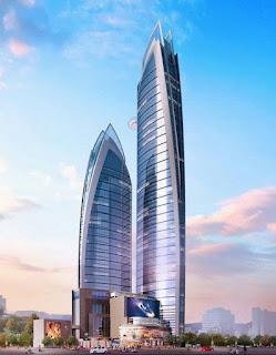 The upcoming tower in Nairobi.. PHOTO | Joseph Ogolla