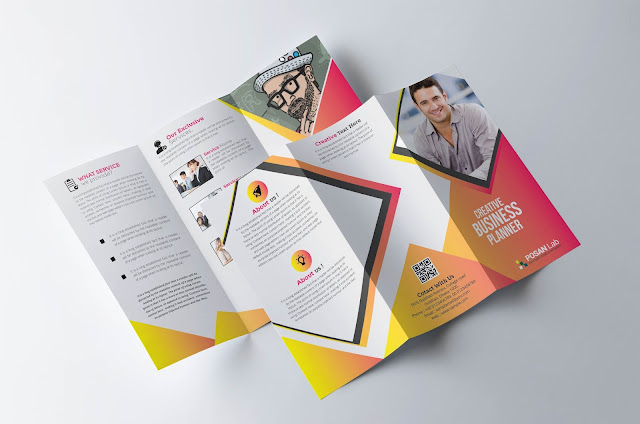 trifold brochure template download free