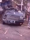 Mobil Pick Up Tabrakan dengan Truk Pasir, 1 Orang Tewas