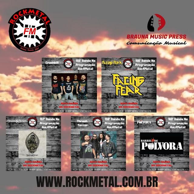 Brauna Music Press: bandas da agência entram para a programação da RockMetal FM