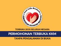 Jawatan Kosong Terkini Kementerian Kesihatan Malaysia | Tarikh Tutup: 09 September 2019