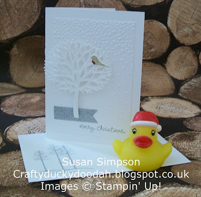 Stampin Up! UK Idependent Demonstrator Susan Simpson, Craftyduckydoodah!, Christmas Commission, Supplies available 24/7,
