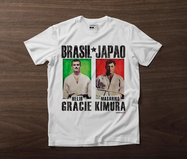 Camiseta Helio Gracie x Kimura