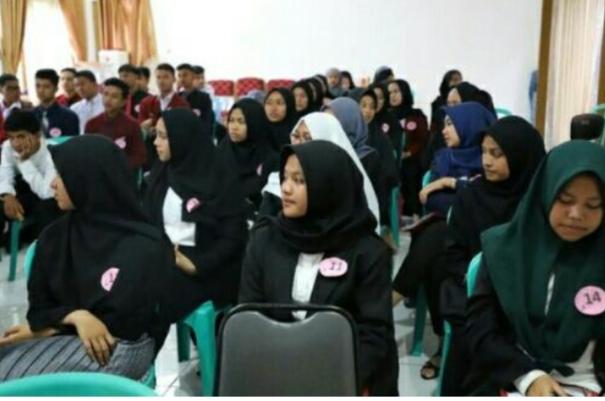 Puluhan Remaja Ikut Pemilihan Duta Genre Kota Payakumbuh
