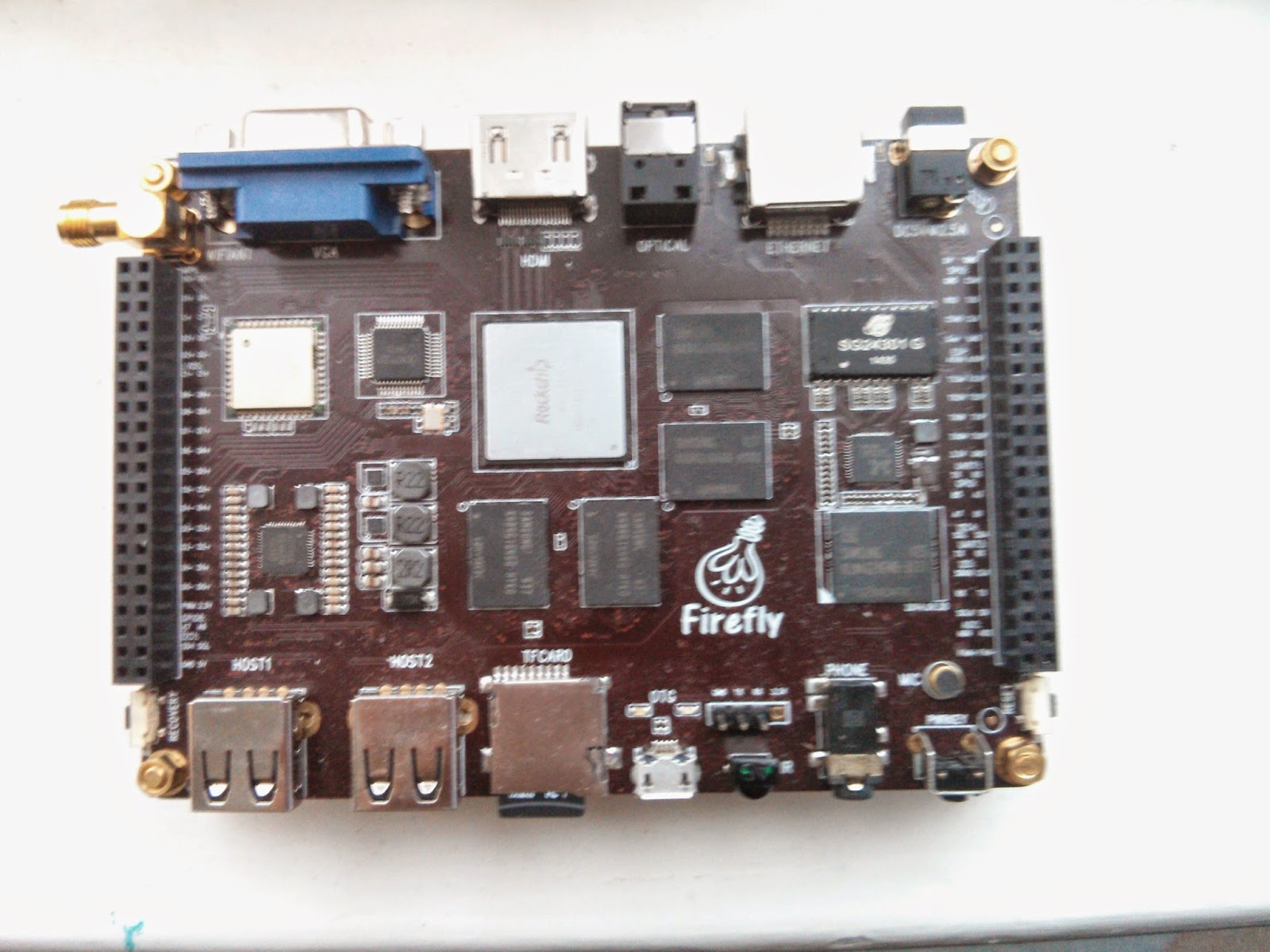 Tiny Devices: RK3288 - Firefly development board