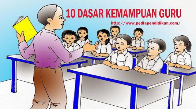 Dasar Kemampuan Guru Dalam Mengajar