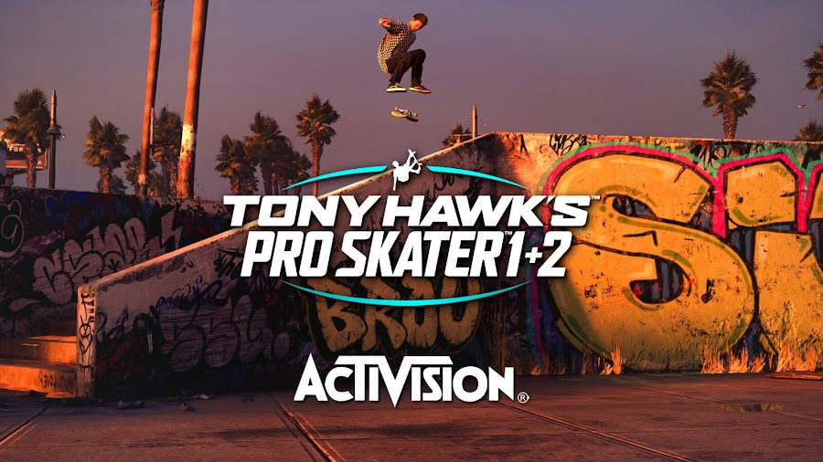 tony hawk's pro skater 1 and 2 remaster announced acclaimed skateboarding video game pc ps4 pro xb1 xb1x activision vicarious visions