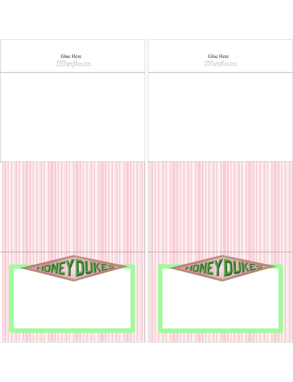 photo about Honeydukes Sign Printable named Honeydukes Desk Playing cards for your Harry Potter Bash Do it yourself